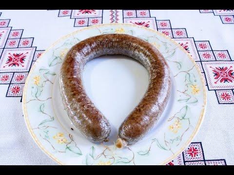 Как сделать печеночную колбасу в домашних условиях видео
