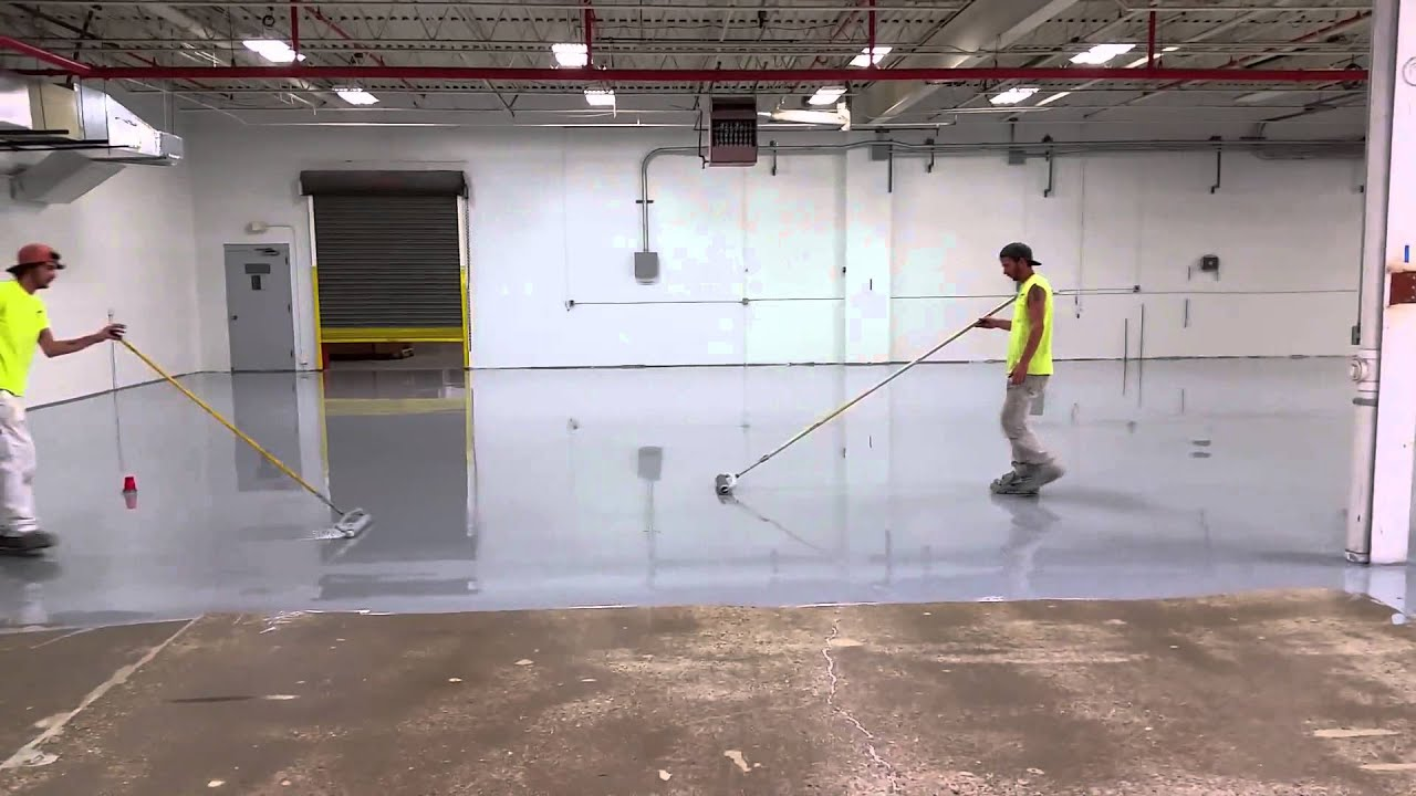 Lakeside Painting Industrial Flooring Applying 100