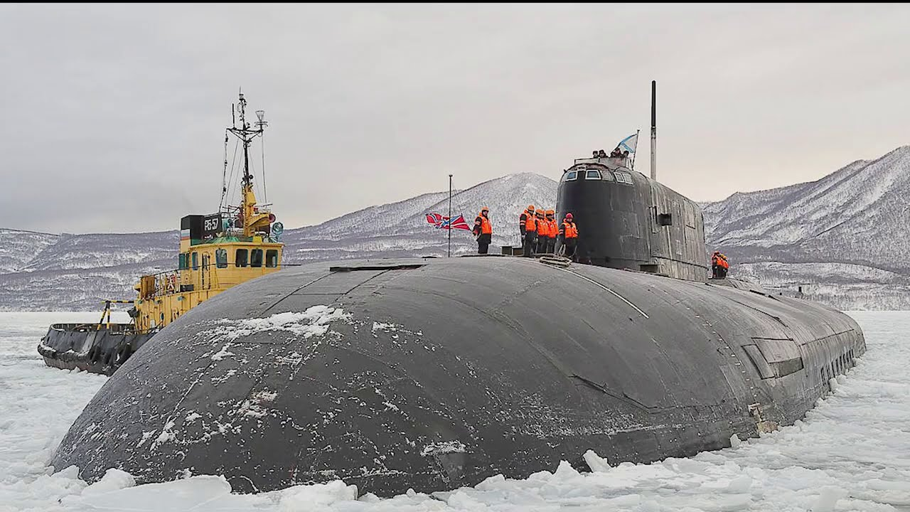 10 LARGEST Submarine In The World