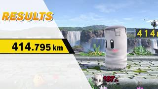 Home Run Contest - Kirby 414.795 km (Former WR)