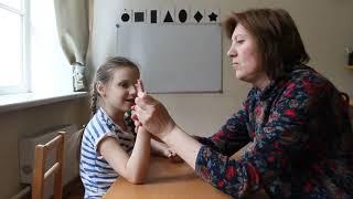 Занятия с логопедом в Свято-Димитриевском детском центре