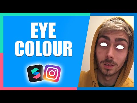 Eye Colour Change Filter Effect | Instagram & Facebook | Spark AR Tutorial thumbnail