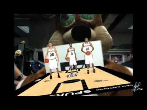 Spurs Augmented Reality : The Courtside Experience