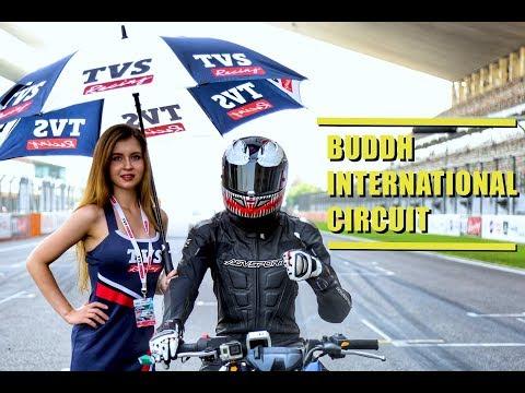 RACING IN DELHI | Buddh International Circuit | TVS Apache race 3
