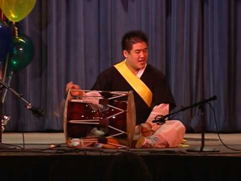 Korean Changgo Drum Solo