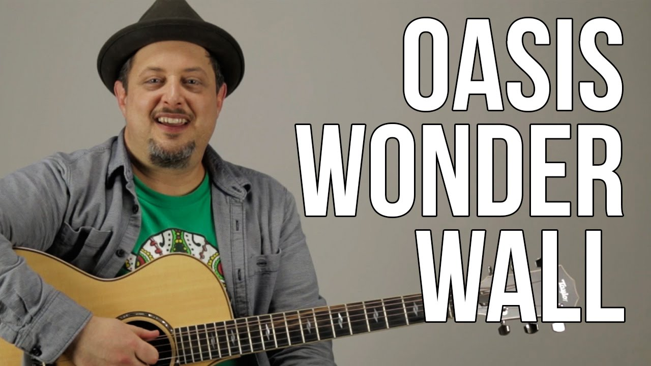 How To Play Oasis Wonderwall Youtube