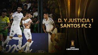 Defensa y Justicia vs. Santos [1-2] | GOLES | CONMEBOL Libertadores 2020