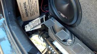 Brads New Car Hyundai Elantra with new System !! Ma Audio Amp Boss Onyx 15