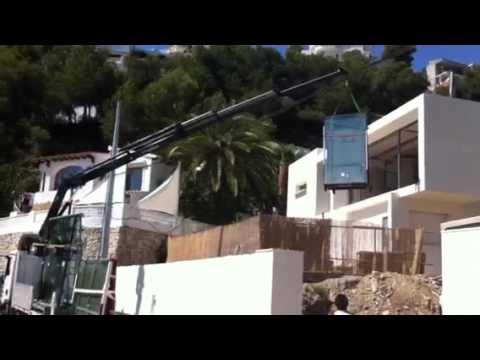 Descarga de vidrios con gr a youtube for Cristaleria benissa