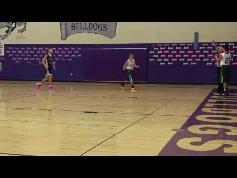 Alec -  Aubry Bend Middle School Basketball 2014 (Attacking the basket)