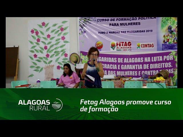 Fetag Alagoas promove curso de formação sindical para mulheres