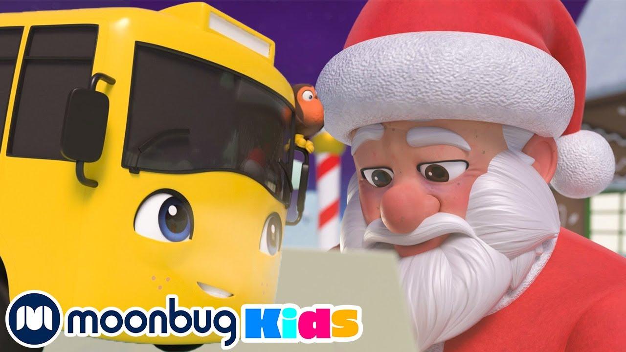 Buster Visits Santa - Go Buster Winter Special | Baby Cartoons | Kids Videos