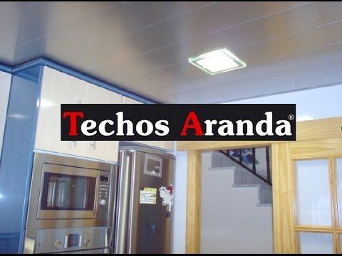 Cielo raso para cocinas fabricante de cielorrasos youtube for Techos de drywall modernos