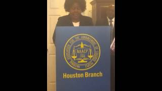 NAACP Press Conference - Just Energy Policies - Texas Report Pt.4