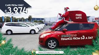 2 Cheap Cars Christmas Sale! Massive Discounts! Free Spot Prizes!