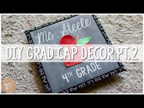 DIY Graduation Cap Decor⎪Again?!