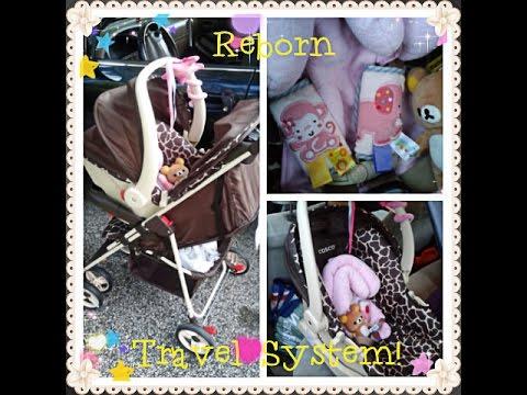 New Reborn Car Seat Amp Stroller Travel System Vlog Youtube