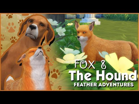 A Fox on the Hunt!! 🦊🐶 Sims 4: Fox & The Hound • Feather Quest • Episode #3