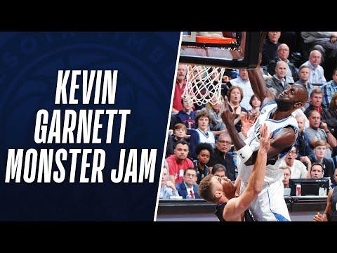 Kevin Garnett Throws Down a Monster Jam on Blake Griffin