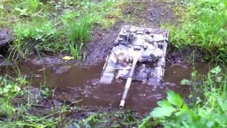 Радиоуправляемый Танк Т-90 Тест В Джунглях Малайзии (1:16 Rc T-90  Malasyan Testing)