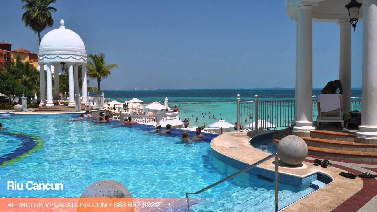 inside the riu cancun in cancun, mexico — all inclusive vacation