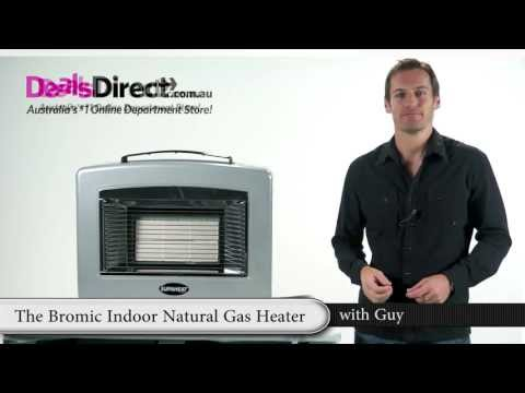 Bromic Portable Indoor Natural Gas Heater - Natural Convection/Radiant