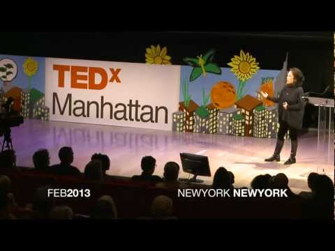 """TEDx Manhattan """"How I Did Less and Ate Better, Thanks to Weeds"""""""
