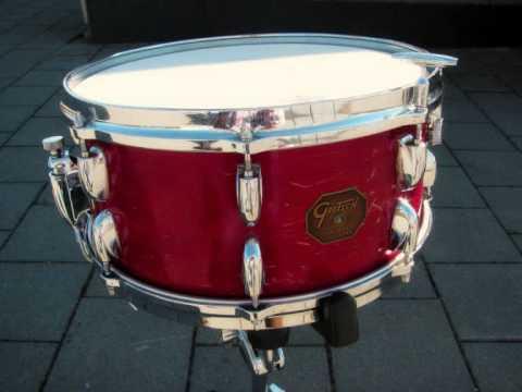 gretsch snare drum model 4153 made in 1981 youtube. Black Bedroom Furniture Sets. Home Design Ideas
