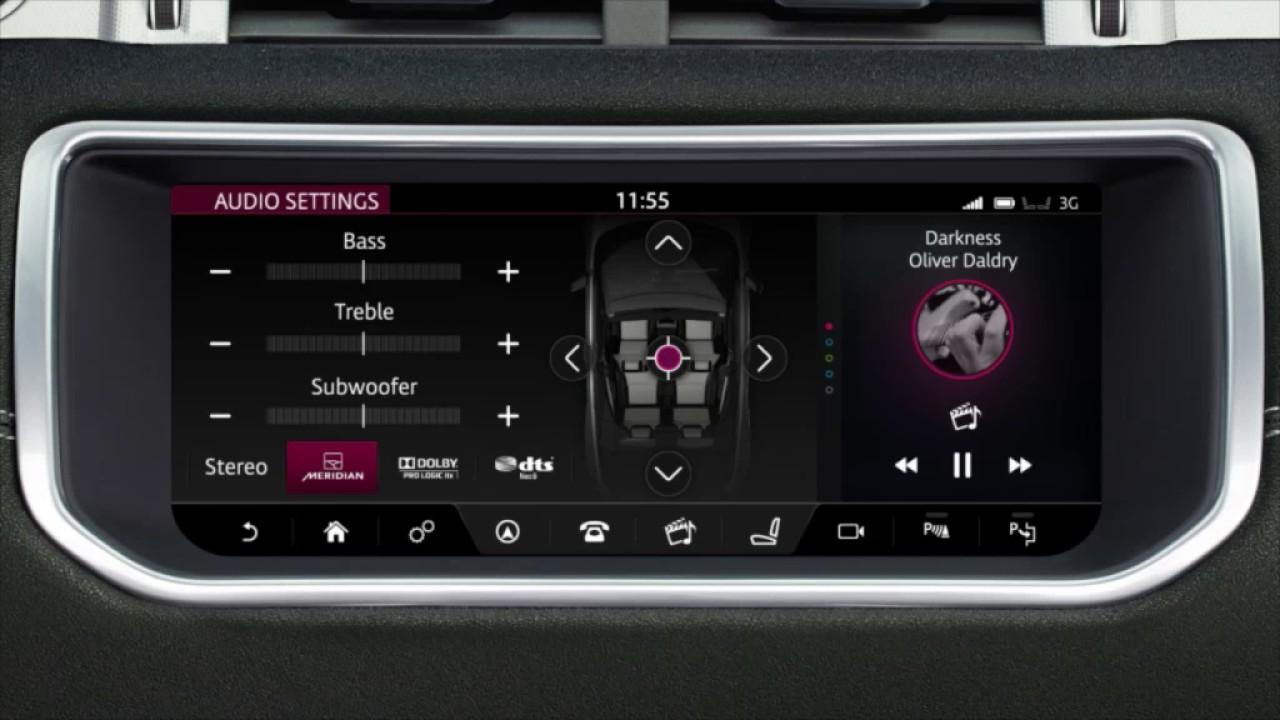 Range Rover Usa >> 2017 Range Rover Evoque | Touchscreen Interface | Land ...