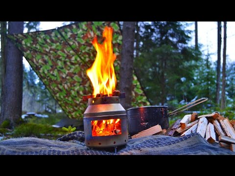 NEU! WTB Outdoor Equipment Hobo, Camping, Bushcraft, Survival, Holz Kocher | Outdoor AusrüstungTV