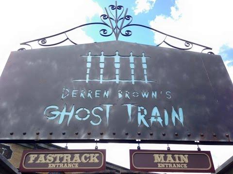 Derren Brown's Ghost Train Review Thorpe Park Vlog July 2016