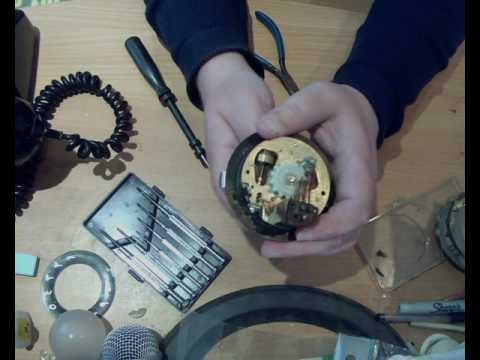 HOW TO STRIP DOWN A TELEPHONE DIAL 71