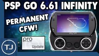 PSP GO 6.61 Infinity Permanent CFW (PRO) Full Tutorial! 2017!