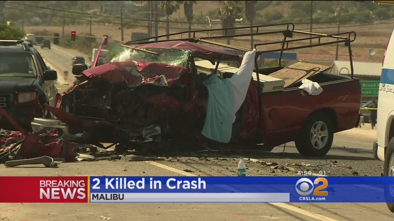 Two Killed In PCH Collision In Malibu
