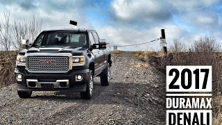 2017 gmc 2500  sierra denali duramax diesel crew cab road test   review