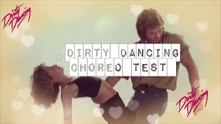 Download lagu Dirty Dancing - Choreo Test    Patrick Swayze Jennifer Grey
