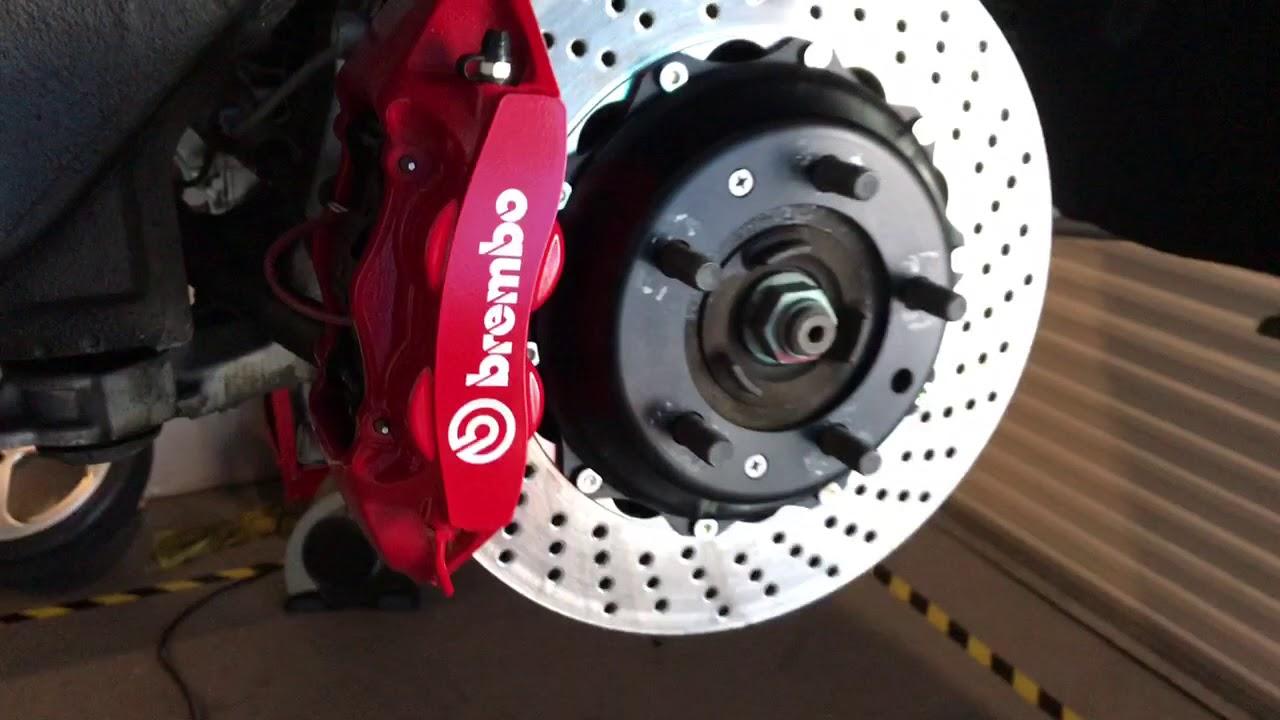 Porsche 993 Brembo Big Brake Kit - YouTube