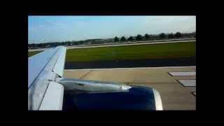 US Airways Airbus A319-112 [N763US] Takeoff Hartsfield--Jackson Atlanta International Airport