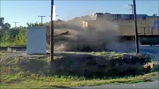 "Major ""COLLISION""! TRAIN Slammed TRAILER - TRUCK in Texas, after Deadly Pennslyvania Crash! 10.10.13"