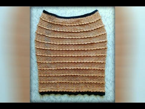 Ютуб как связать юбку крючком
