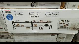 363c79247350f4 Costco! Extra Wide Expanding Stacking Shoe Rack 2 Pack!  49!