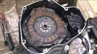 BMW k75 rebuild Dry Clutch job 3/?