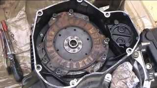 BMW k75 rebuild Dry Clutch job 3/?