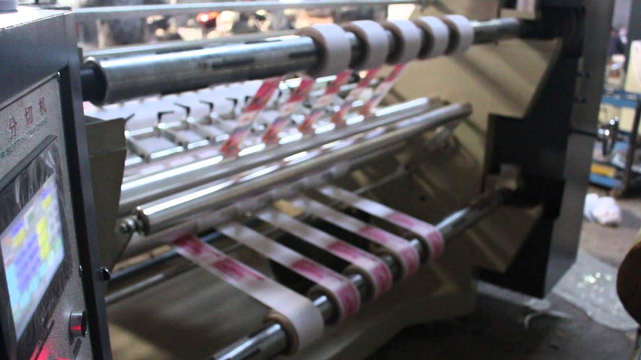 WFQ-1500 Slitter Rewinder Machine Supplier For ACTOM