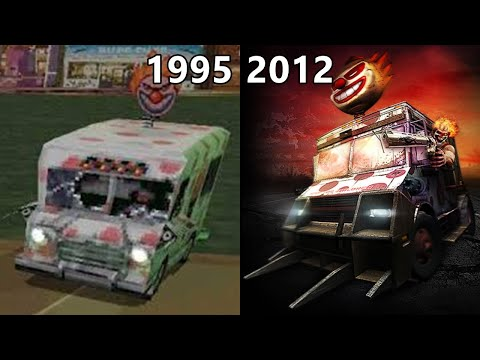 Twisted Metal Evolution 1995-2012 (Ps)
