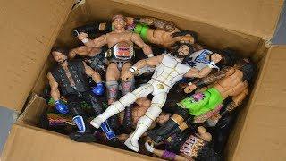 BIG BOX FULL OF WWE ACTION FIGURES!