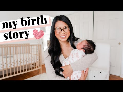 MY BIRTH STORY (NO EPIDURAL) | Positive Labor & Delivery | First Time Mom ✨