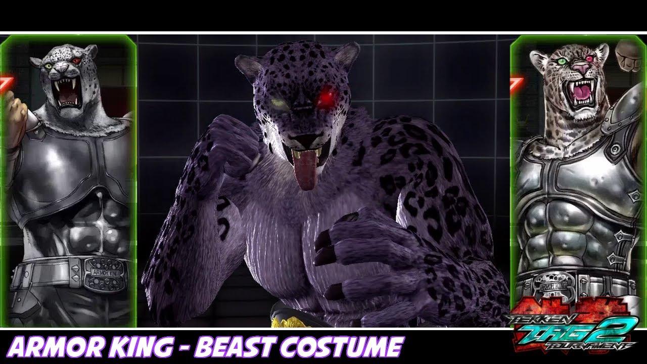 Tekken Tag Tournament 2 Armor King Beast Costume Youtube