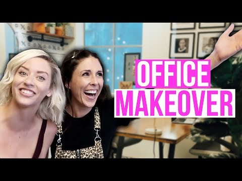 DIY Office Makeover of Our Dreams ft Lily Marston!