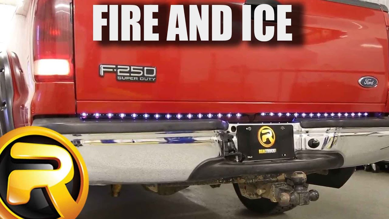 firestorm led tailgate light bar grand cherokee wiring diagram plasmaglow fire and ice fast facts